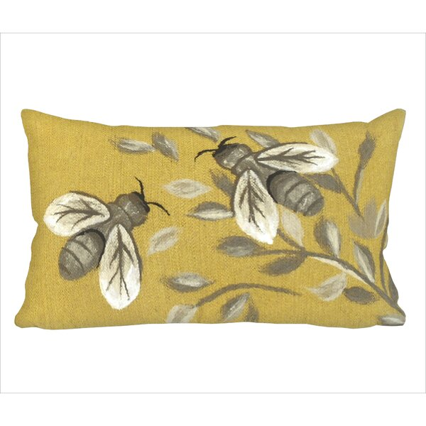 Dimondale Bees Lumbar Pillow by Gracie Oaks