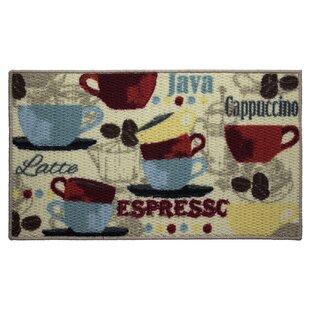 Textured Loop Coffee Kitchen Area Rug