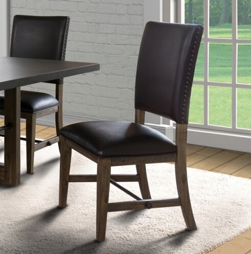 Bullard Upholstered Dining Chair (Set of 2) by Millwood Pines
