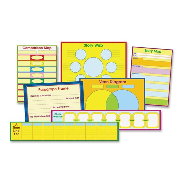 Graphic Organizer Chart Set by Carson-Dellosa Publishing
