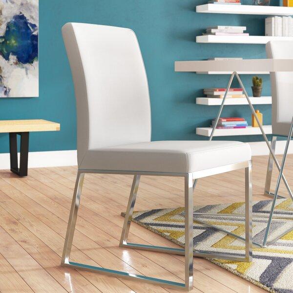 Woodard Parsons Upholstered Dining Chair (Set of 2) by Orren Ellis