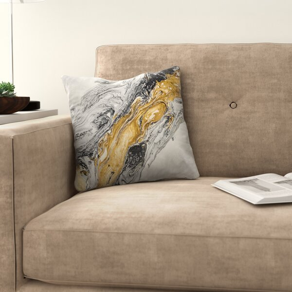 Harmony Throw Pillow by East Urban Home