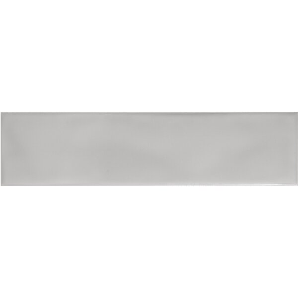 Craft 3 x 12 Ceramic Subway Tile in Glossy Gray by Emser Tile