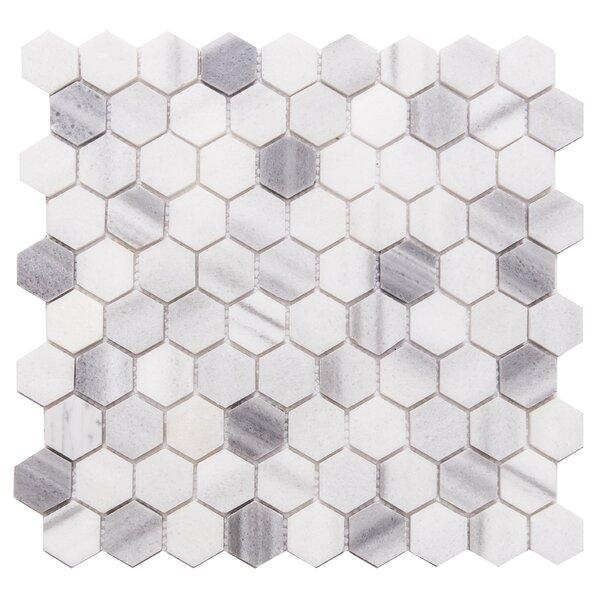 Santorini 1 x 1 Marble Mosaic Tile