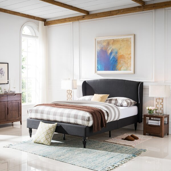 Abbie Traditional Bed Frame by Alcott Hill