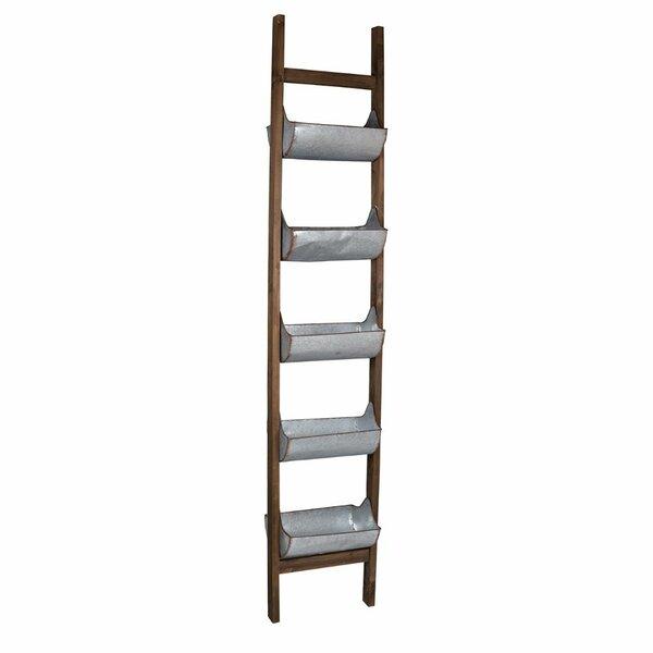 Allegro Ladder Metal Planter by Gracie Oaks