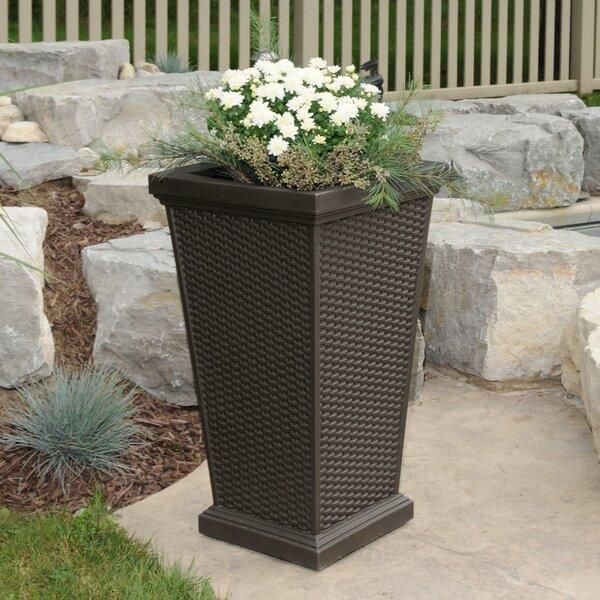 Wellington Plastic Pot Planter by Mayne Inc.