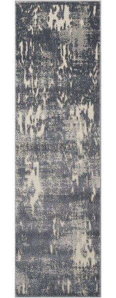Gleam Slate Area Rug by Michael Amini