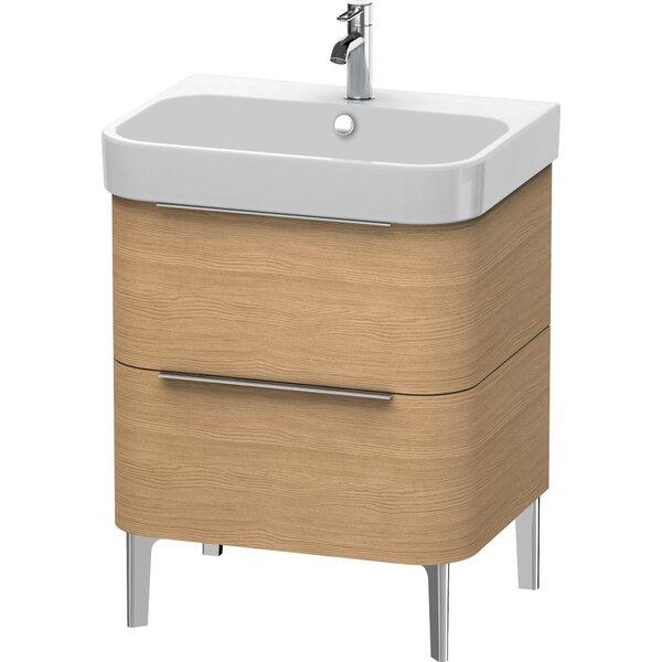 Happy D.2 24.63 Wall Mounted Single Bathroom Vanity Base Only