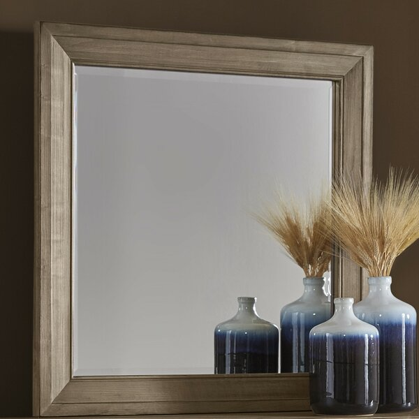 Fairfield Square Dresser Mirror by Loon Peak