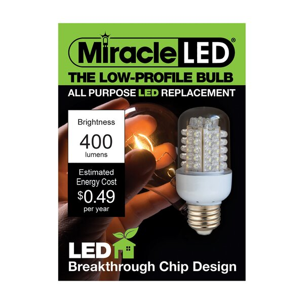 1.3W LED Light Bulb by Miracle LED