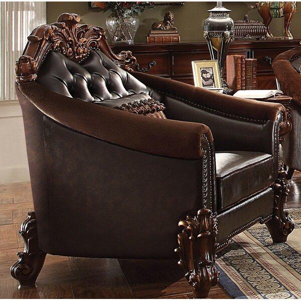 Bordadora Armchair with Pillow by Astoria Grand