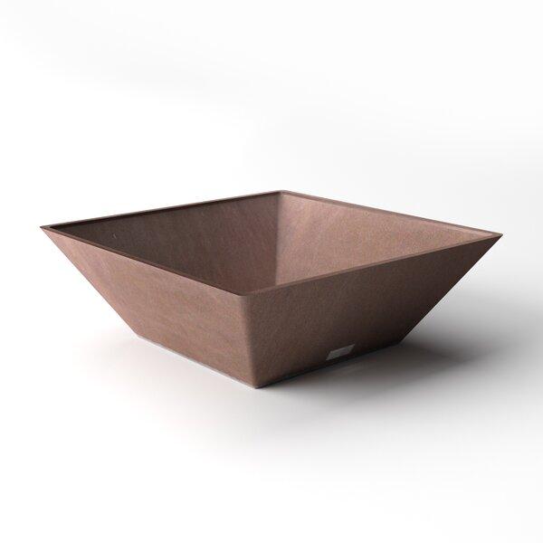 Trapezoid Plastic Pot Planter by Veradek