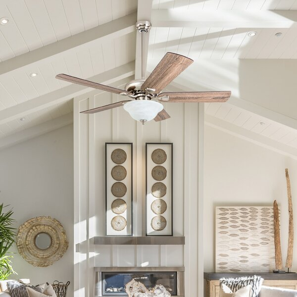 52 Tyree 5 Blade LED Ceiling Fan by Millwood Pines
