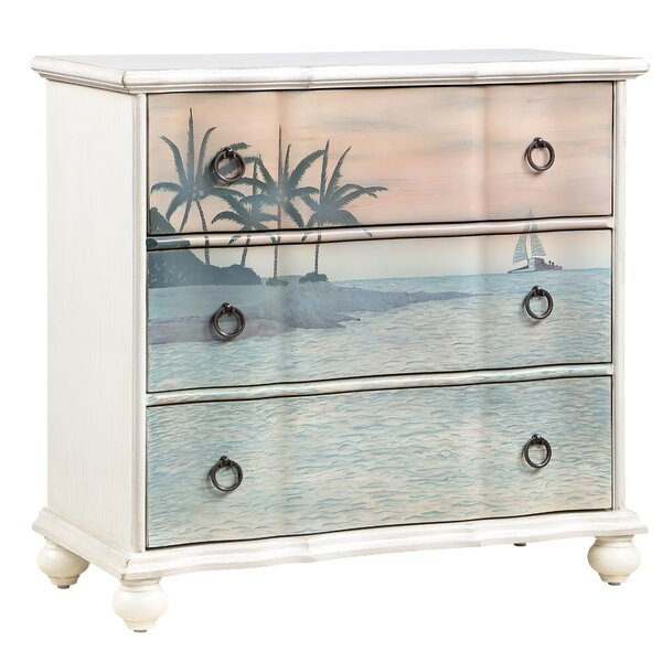 Lunado 3 Drawer Accent Chest