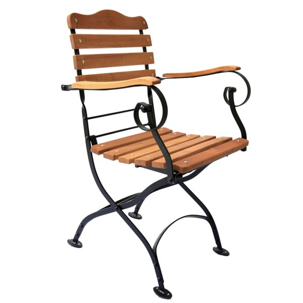Tosca Folding Patio Dining Chair by Haste Garden