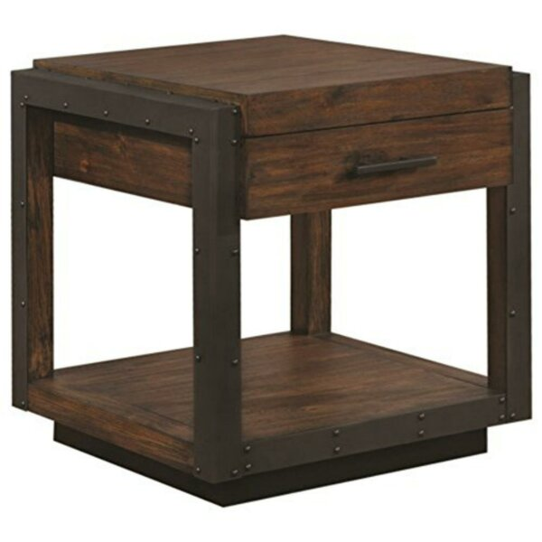 Swampscott Cottage End Table by 17 Stories