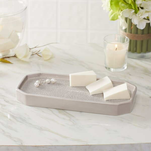 Hewitt Porcelain Bathroom Accessory Tray by Birch Lane™