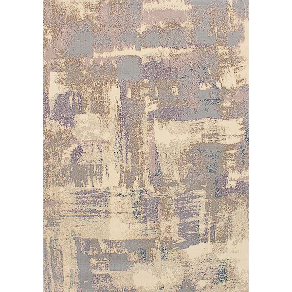 Duckworth Gray/Ivory Area Rug by Williston Forge