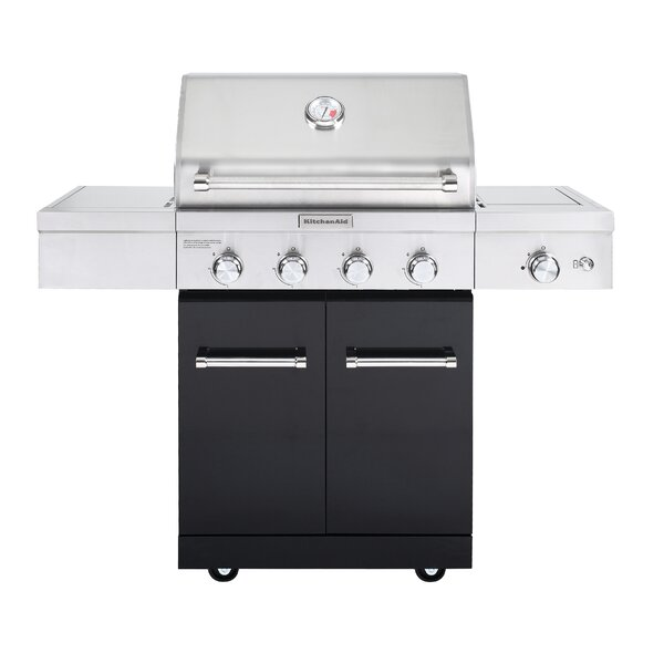 4-Burner Liquid Propane Gas Grill - 720-0954A by KitchenAid