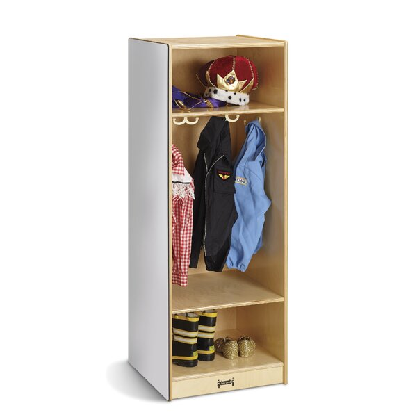 1 Section Coat Locker by Jonti-Craft