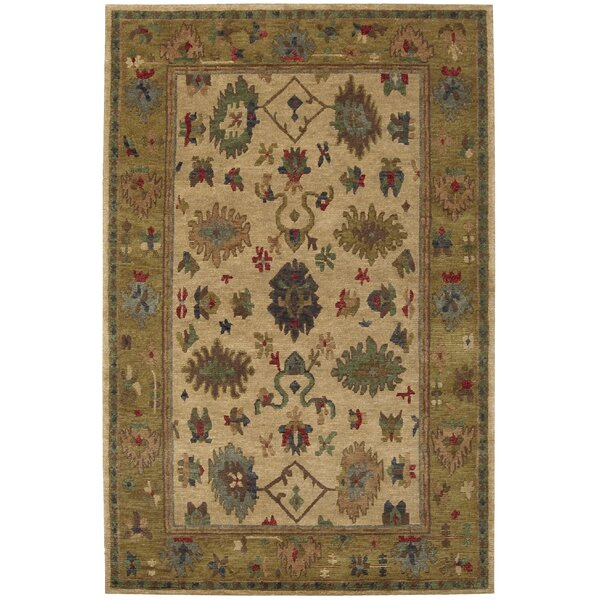 Bowen Gold Area Rug by Darby Home Co