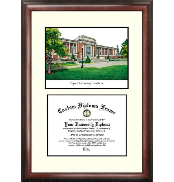 NCAA Oregon State University Scholar Diploma Picture Frame by Campus Images