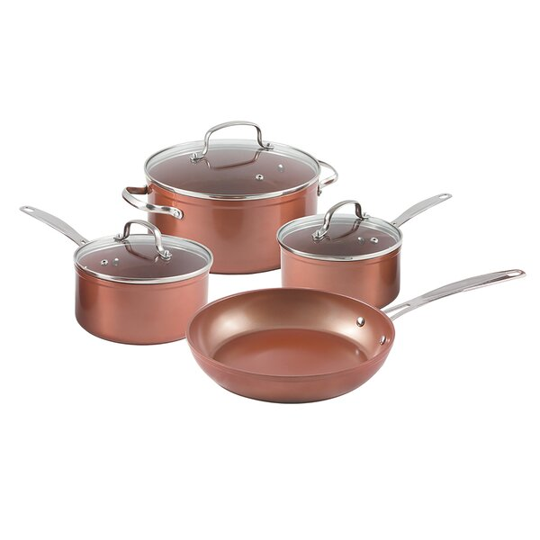7 Piece Forged Non-Stick Cookware Set by NuWave