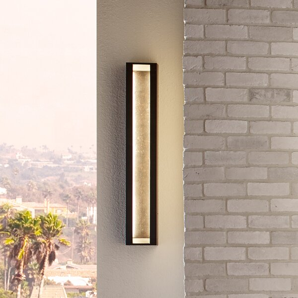 Mattix 4-Light LED Outdoor Sconce by Feiss