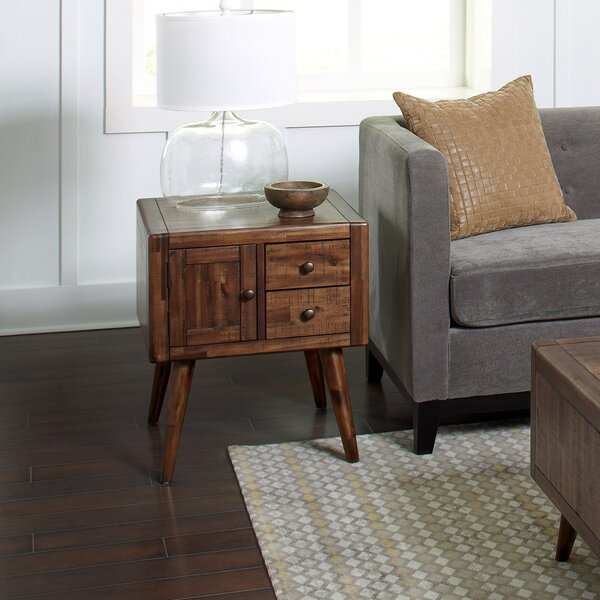 Ashland Contemporary End Table by Union Rustic