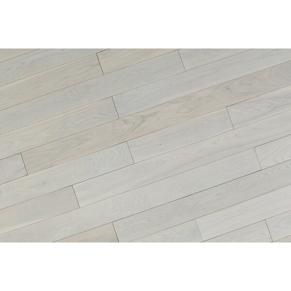 Alzamora 3.5 Solid Oak Hardwood Flooring in White by Albero Valley