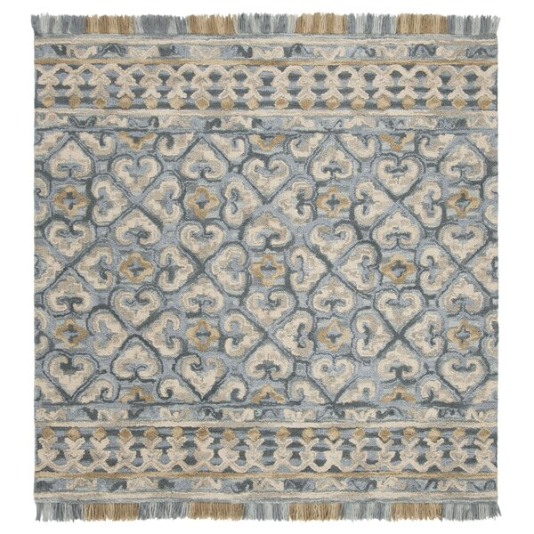 Bradwood Hand-Tufted Light Beige Area Rug by Charlton Home