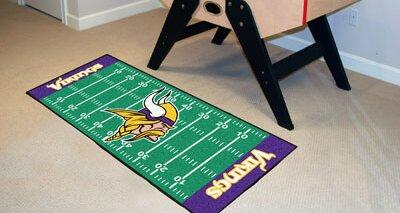 NFL - Minnesota Vikings Football Field Runner by FANMATS