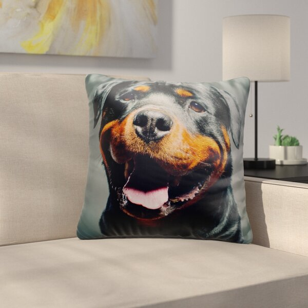 Bouldin Creek Sweetie Dog Head Throw Pillow by East Urban Home