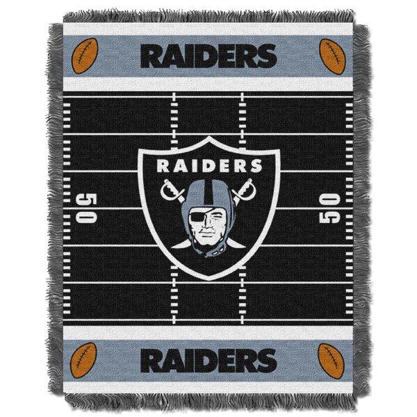 NFL Raiders Field Baby Blanket by Northwest Co.