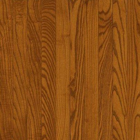 5 Solid Red Oak Hardwood Flooring in Gunstock by Bruce Flooring