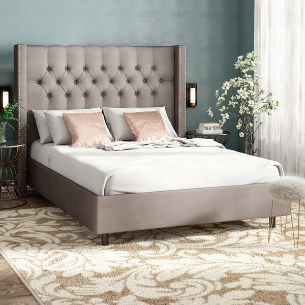 Gerrald Upholstered Standard Bed by Willa Arlo Interiors