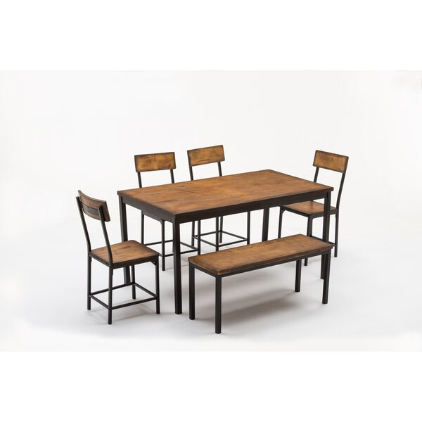 Bushman 6 Piece Pub Table Set by Williston Forge