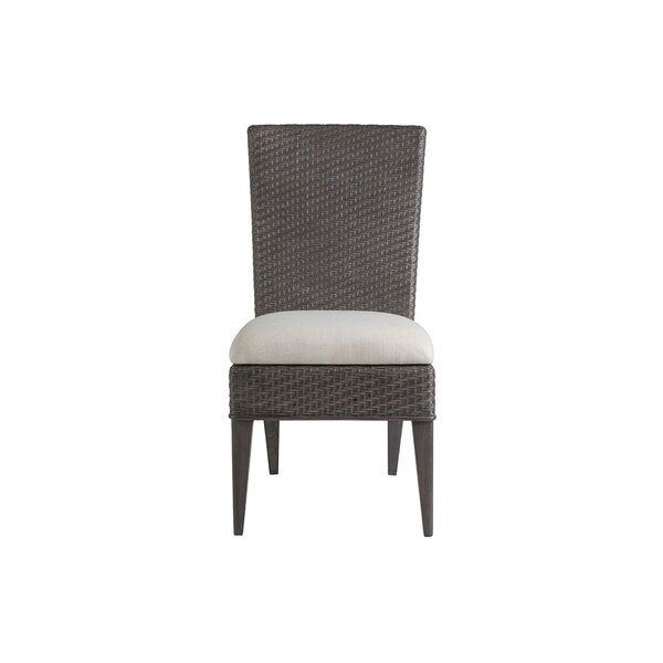 Signature Designs Linen Upholstered Side Chair In Brown By Artistica Home