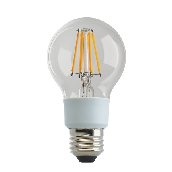 9W E26 Medium Base LED Filament Light Bulb (Set of 6) by Satco
