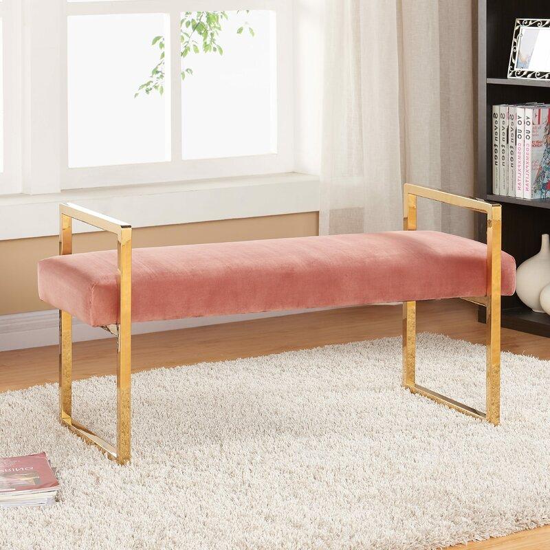 Varian Upholstered Storage Bedroom Bench Birchlane: Elmwood Upholstered Bench & Reviews