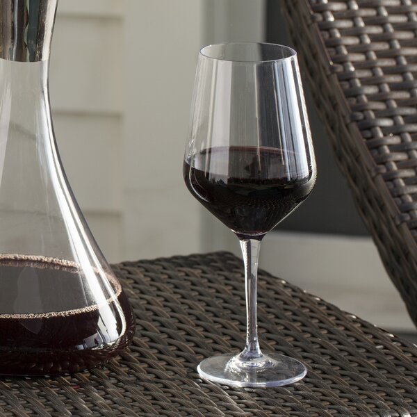 Nutmeg 18.5 Oz. Wine Glass (Set of 6) by Mint Pantry