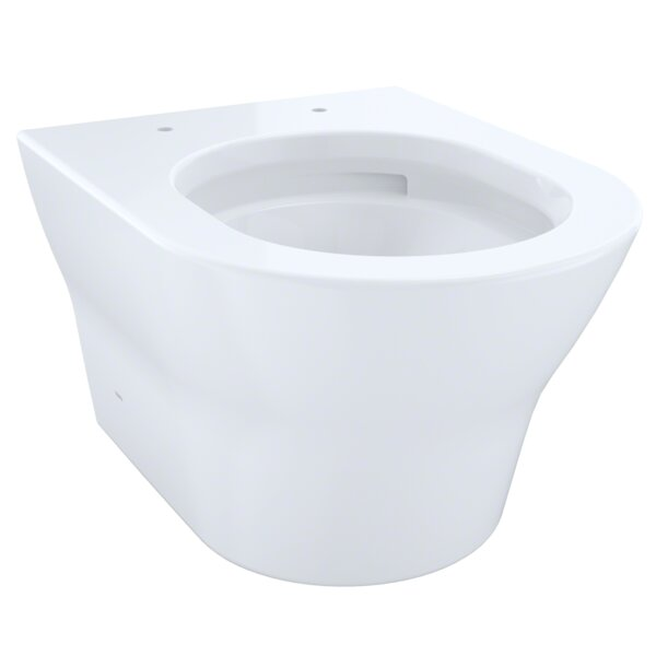 MH Wall-Hung 1.28 GPF Dual Flush Elongated Toilet Bowl by Toto