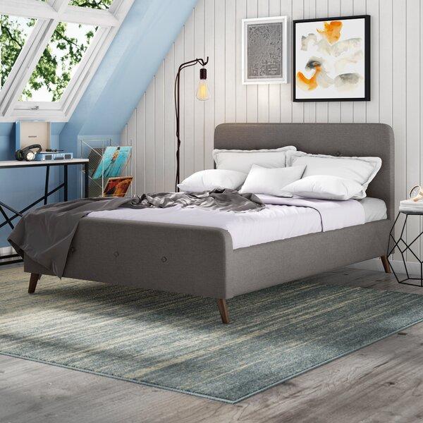 Borden Upholstered Platform Bed by Trule Teen