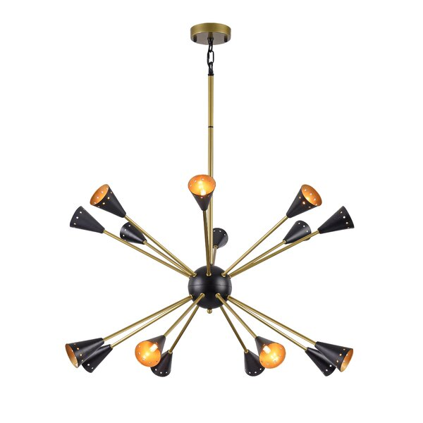 Basquez 16 - Light Sputnik Sphere Chandelier by Wrought Studio Wrought Studio