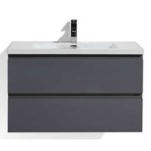 MOB 36 Single Bathroom Vanity Set