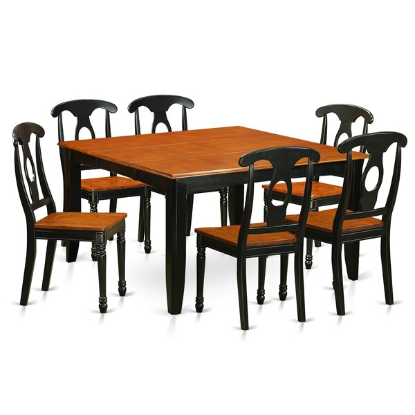 Pilning Modern 7 Piece Dining Set by August Grove