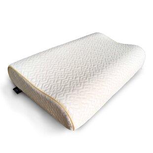 Reviews Rosalie Cooling Gel Coated Contour Memory Foam 16 x 24 Pillow ByAlwyn Home