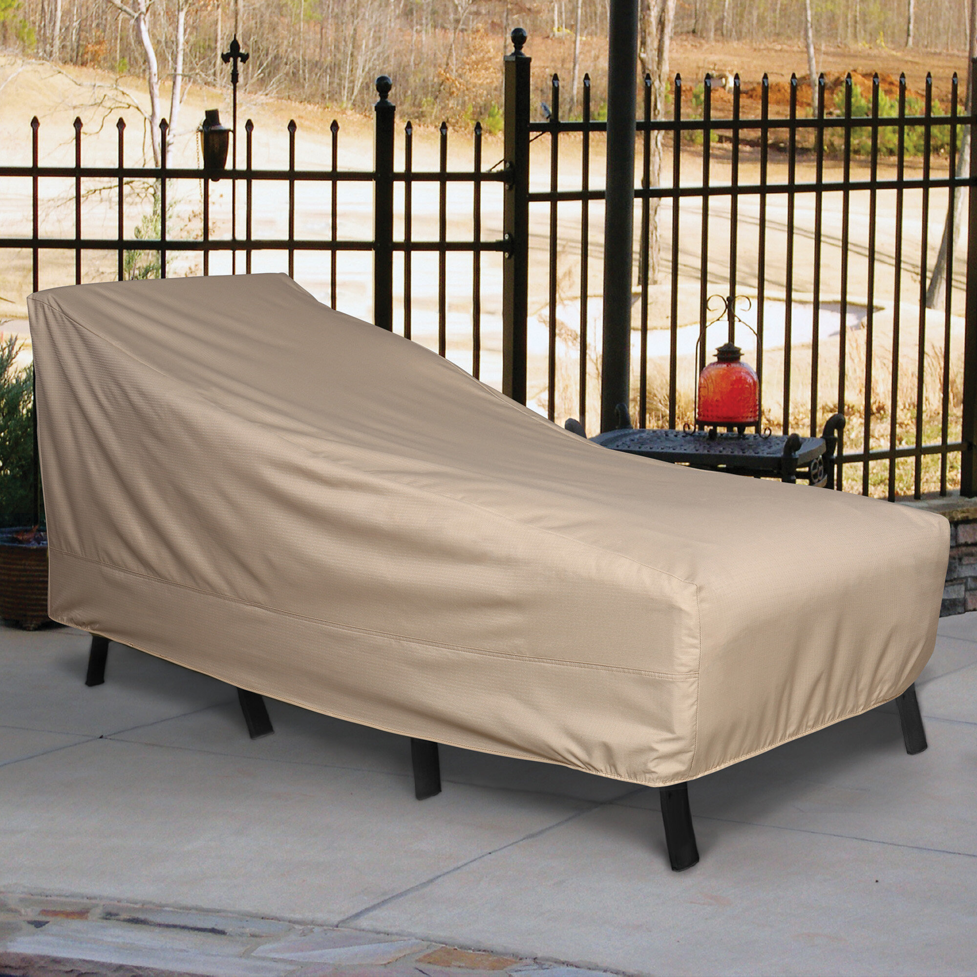 Freeport park breathable patio chaise lounge covers wayfair