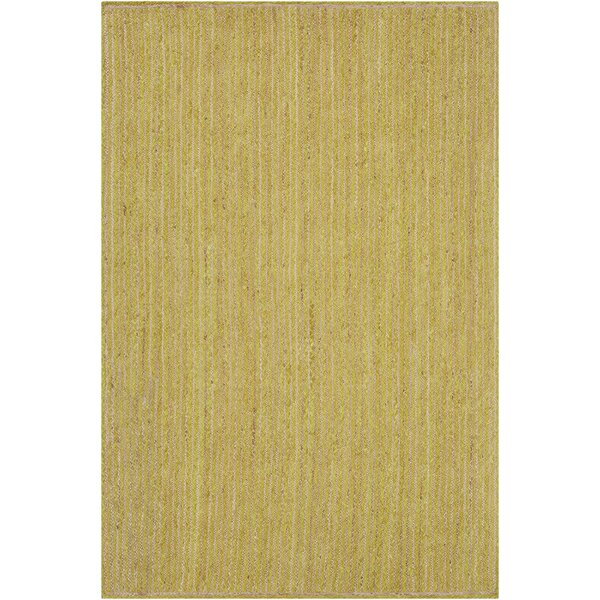 Yother Textured Contemporary Lime Green Area Rug by Brayden Studio
